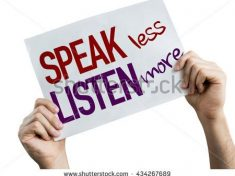 stock-photo-speak-less-listen-more-placard-isolated-on-white-background-434267689